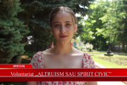 "Voluntariat ""Altruism sau spirit civic"""