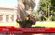 Victimile represiunilor staliniste comemorate la Drochia