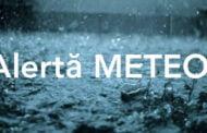 Cod Galben de ploi cu fulgere și vijelie în toată ţara