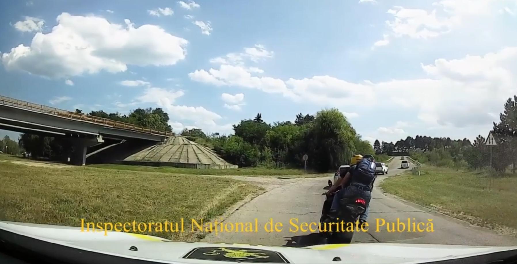 Cu motocicletă adusă din UE pe bucăți și cu o viteză de 220 km/h