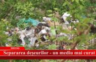 Separarea deșeurilor - un mediu curat