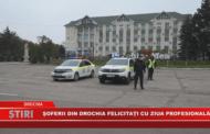 Şoferii din Drochia felictați cu Ziua profesională