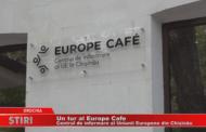 Un tur al Europe Cafe, Centrul de informare al Uniunii Europene din Chișinău
