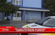 Polițiștii din Drochia au susținut Campania de donare a sângelui