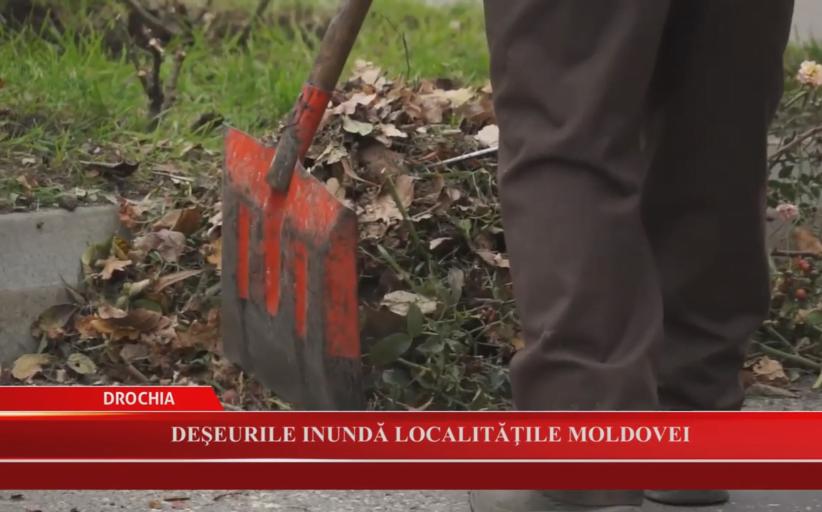 Deșeurile inundă localitățile Moldovei