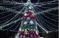 Inaugurarea pomului de Crăciun a avut loc la Drochia