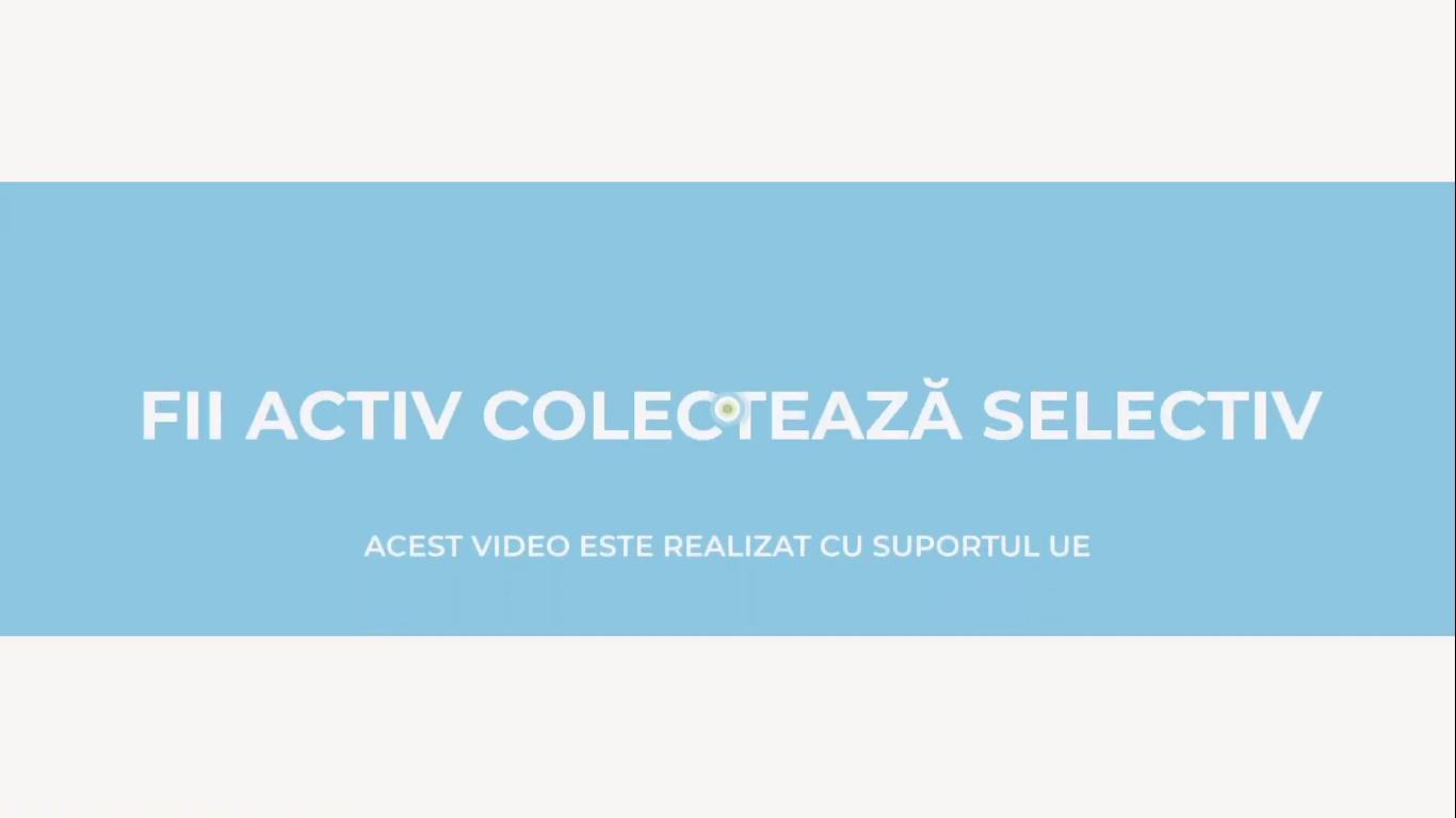 Fii Activ - Colectează Selectiv