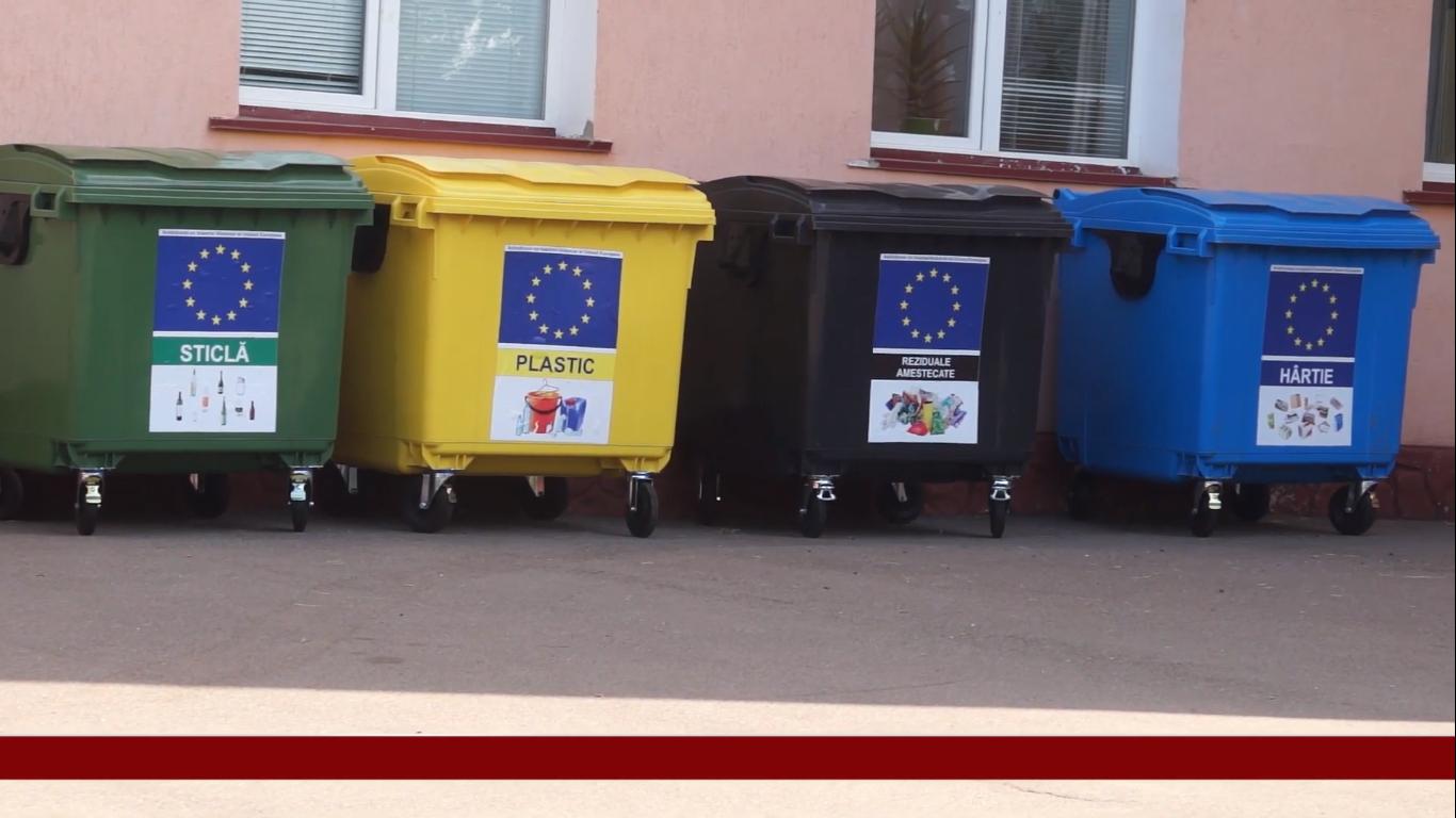 Proiecte de gestionare a deșeurilor schimbă la față localitățile rurale din zona de nord a R.M.